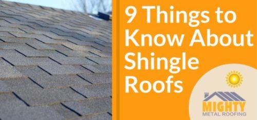9 Things to Know About Shingle Roofs