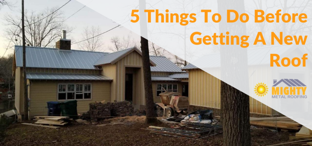 5 Things should know before getting a new roof