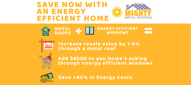 SAVE NOW WITH AN ENERGY EFFICIENT HOME