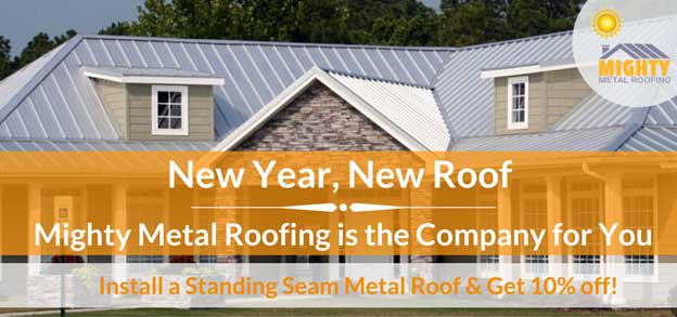 New Year, New Roof | Mighty Metal Roofing is the Company for You