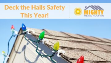 Deck the Roof Safely This Holiday Season!