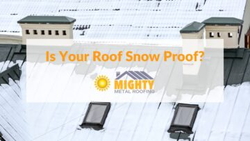 Is Your Roof Snow Proof?